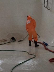 Extracting Floodwater From A Commercial Property