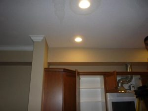 Water Damage Ceiling In Kitchen
